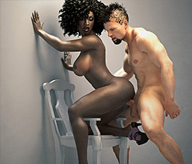 Simulateur de Sexe Interracial